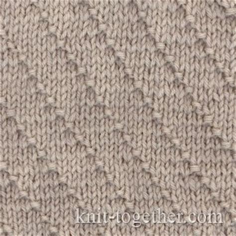 knitting plain stitch knit together oblique stripes stitch pattern 1 knitting