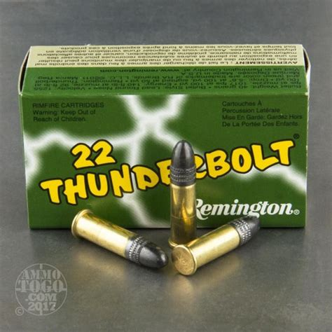 remington thunderbolt 22 ammo 22 long rifle lr ammunition for sale remington 40 grain