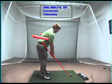 connection in golf swing golf swing connected takeaway youtube