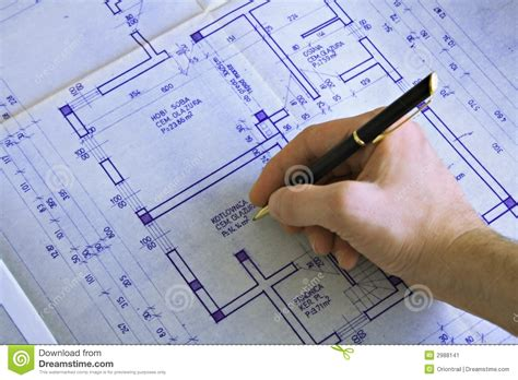 How To Make Blueprint Paper - drawing a blueprint stock image image of detail