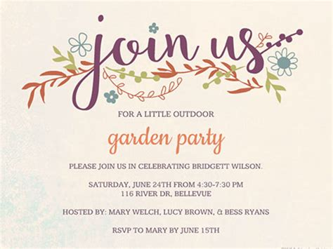 Join Us Invitations  Ee  Sample Ee   Business Template