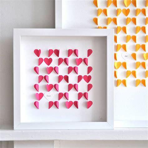 cuadro con goma eva decoracin de cuadro con goma eva cuadros decorativos con corazones de papel
