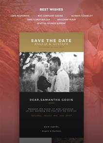 Wedding Invitation Mail Templates by Wedding Invitation Card Email Template Buy Premium