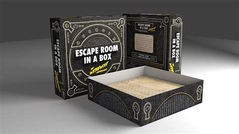 room in a box mattel escape room in a box the experiment toys