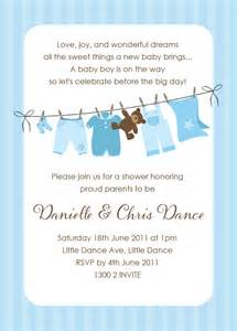 baby shower invitations for boys wording