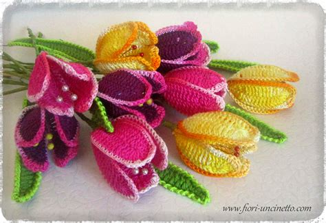 tutorial fiori uncinetto italiano fiori uncinetto crochet flowers fiori all uncinetto