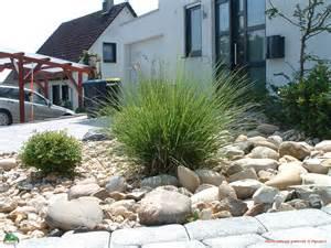 gartengestaltung vorgarten mit kies gestalten moderner vorgarten mit kies gartens max