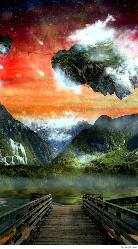 iphone nature wallpaper quotespics