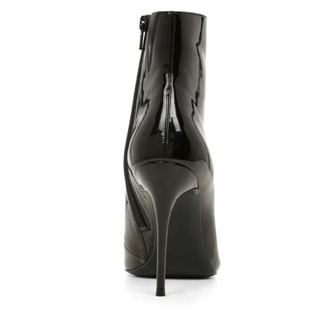 Pointy Ankle Boots lyst aldo areicia high heel pointy toe ankle boots in black