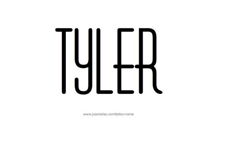 tattoo ideas for the name hunter tyler name tattoo designs