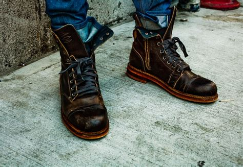 gq mens boots ben s style boots on the ground