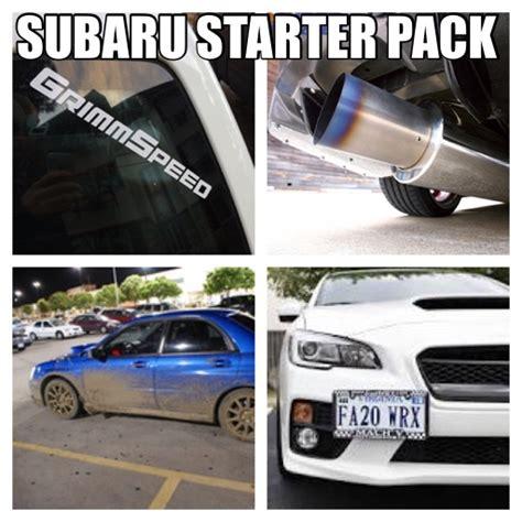 Starterkit Pack subaru starter pack