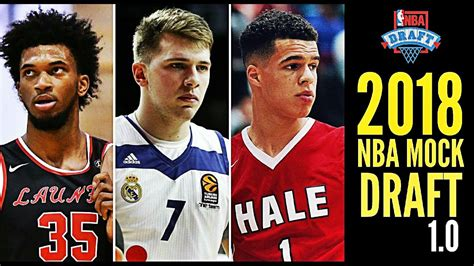 2018 nba mock draft 1 0 michael porter jr marvin