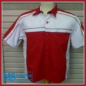 Seragam Merah Putih Jual Seragam Kerja Putih Merah Srg09 Harga Murah