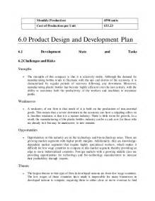 manufacturing business plan template plastic manufacturing company business plan