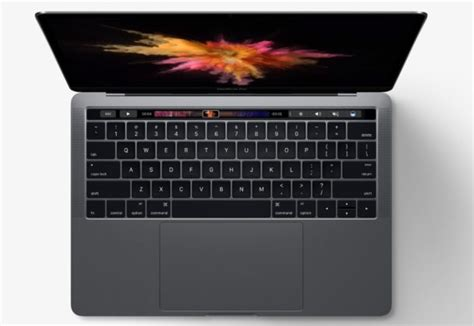 Macbook New new macbook pro with touch bar debuts