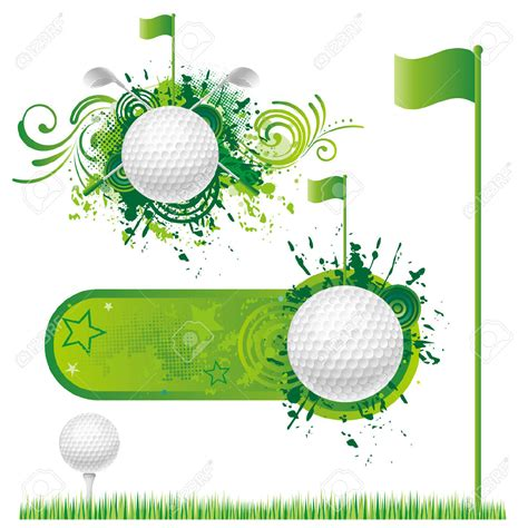 golf clipart best golf border clip 15374 clipartion