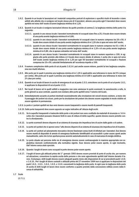 testo unico 81 08 allegati testo unico d lgs 81 08