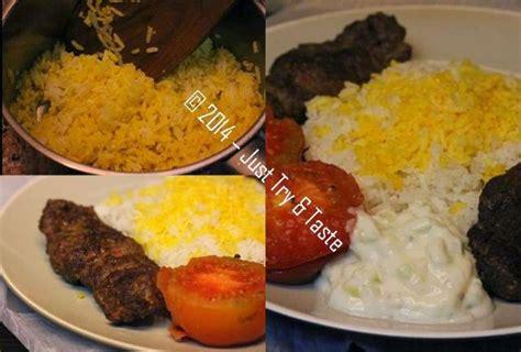 Kompor Kebab kebab koobideh kebab daging kambing dan sapi cincang a