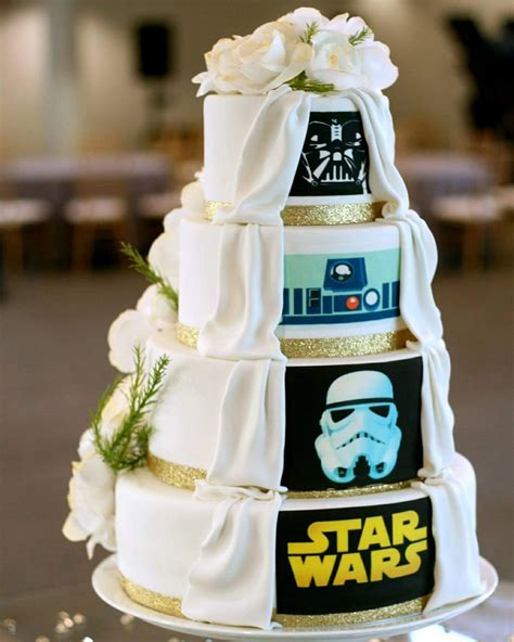 Hochzeitstorte Wars by May The Be With You As You Plan A Wars Wedding
