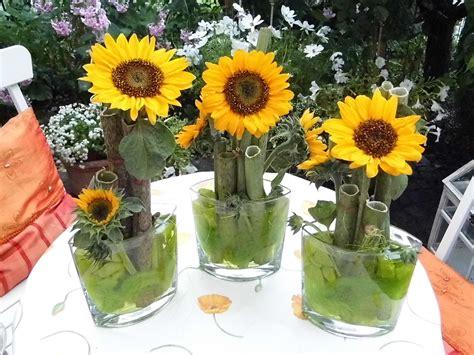 Sonnenblumen Tischdeko by Deko Mit Sonnenblumen Bilder Und Fotos D E K O R A T I
