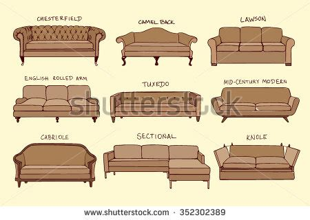 sofa styles guide sofa stock photos royalty free images vectors