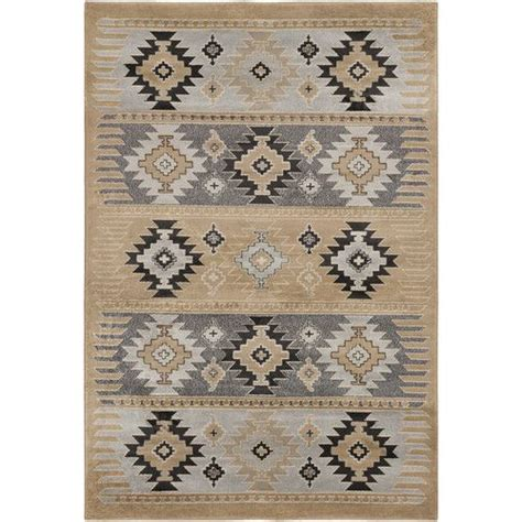 aztec rugs cheap meticulously woven southwestern aztec wheat nomad barley area rug 2 x 3