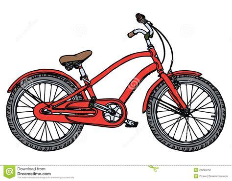 clipart bicicletta vecchia bicicletta illustrazione stilizzata di vettore