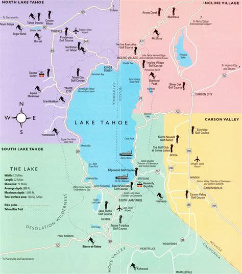 lake tahoe map lake tahoe area california map lake tahoe ca mappery