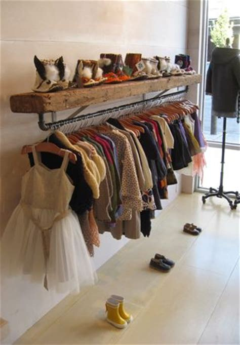 S Closet Boutique by Pipe Clothing Racks On Clothing Racks Garment