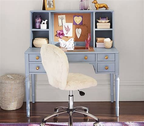 pottery barn desk kids zoey storage desk hutch pottery barn kids