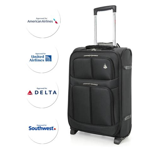 united carry on weight aerolite 22x14x9 carry on lightweight upright luggage