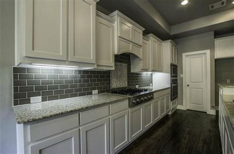 Contemporary Kitchen With Custom Hood Amp Kitchen Island