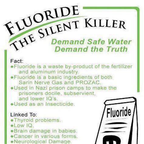 Can You Detox Fluoride From Your by Dangers Of Fluoride In Toothpaste
