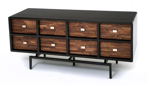Dining Room Credenza Buffet by Soft Modern Furniture Sustainable Sideboard Reclaimed Wood