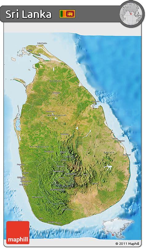 sri lanka satellite map free satellite 3d map of sri lanka shaded relief outside