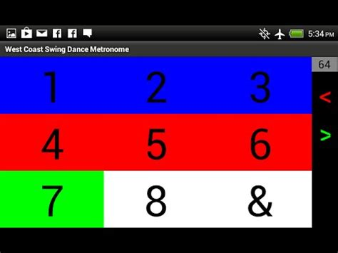 swing metronome west coast swing metronome android apps on google play