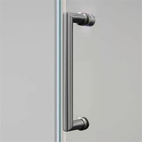 Frameless Shower Door Handle 44 Quot 48 Quot Frameless Sliding Tempered Glass Shower Door