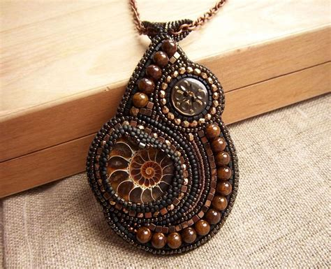 Ryco Handcrafts - 17 best images about bead embroidered pendant on