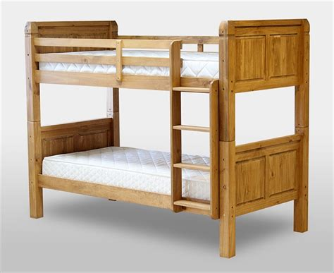 Oak Wood Bunk Beds Solid Oak Bunk Beds Uk J Wall Decal