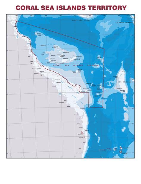the coral sea coral sea islands