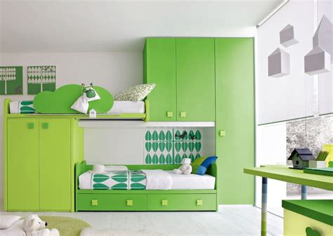 simple kids bedroom designs green kids bedroom furniture simple ideas pictures 02