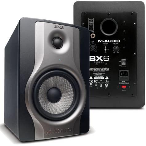 Speaker Aktif Faws m audio bx6 carbon 6 in powered studio monitors pr pssl