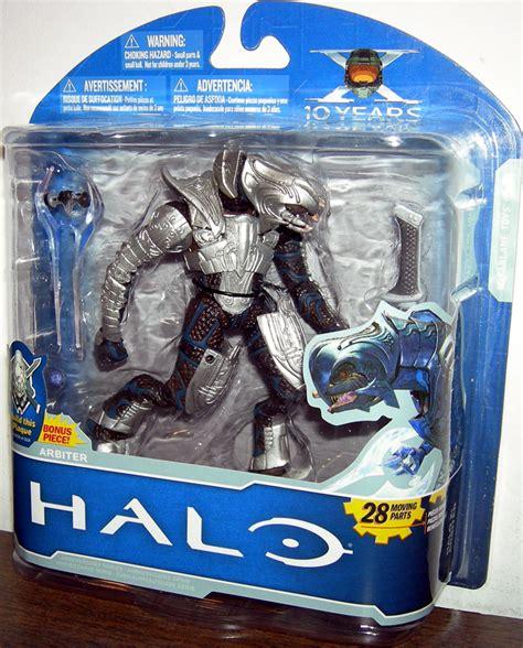halo 2 figures arbiter figure x 10 years halo 2 mcfarlane toys