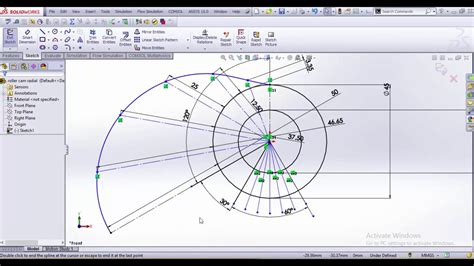 tutorial solidworks cam roller follower cam design in solidworks youtube