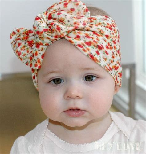 Turban Baby baby turban tie knot wrap headband knotted turban wrap headband infant baby