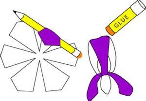 iris flower template make a paper flower bouquet decoration