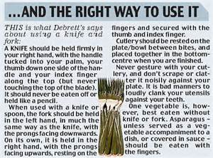 what s with the way we use forks and knives at the table knife sales plummet as diners choose to eat with just a