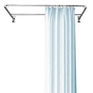oval shower curtain rod the loo store