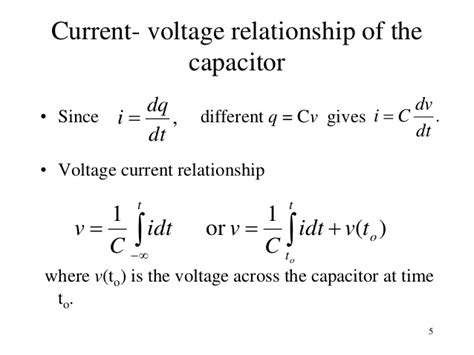 capacitor equation i c dv dt topic 2a ac circuits analysis